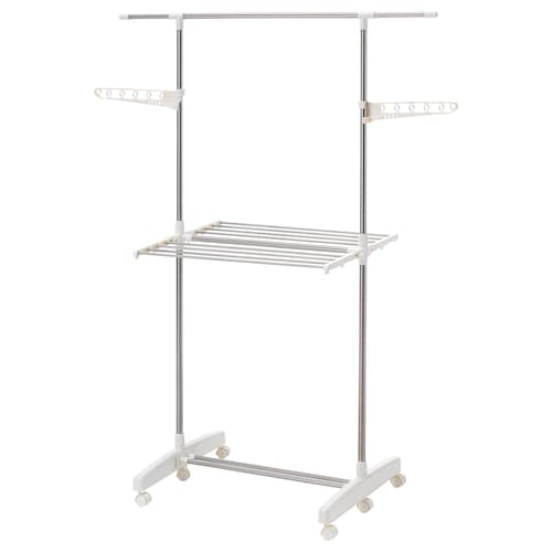 PURKLA drying rack, 2 levels 85 cm 133 cm 18 cm 60 cm 93 cm 165 cm