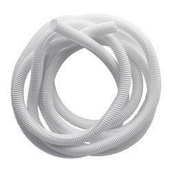 RABALDER cable tidy, white