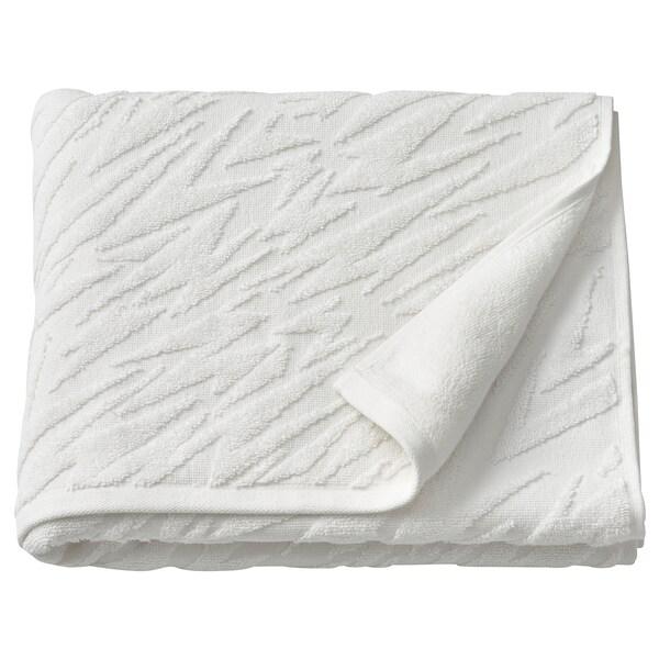RÄMYREN Bath towel, white, 70x140 cm