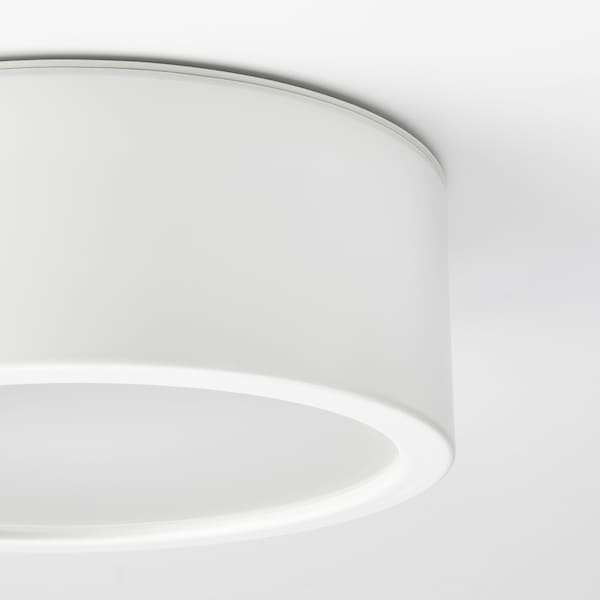 RAKSTA LED ceiling lamp, white, 28 cm