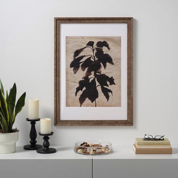 RAMSBORG Frame, brown, 50x70 cm
