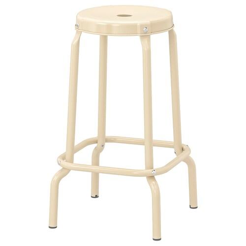 RÅSKOG bar stool beige 100 kg 30 cm 44 cm 44 cm 63 cm 63 cm