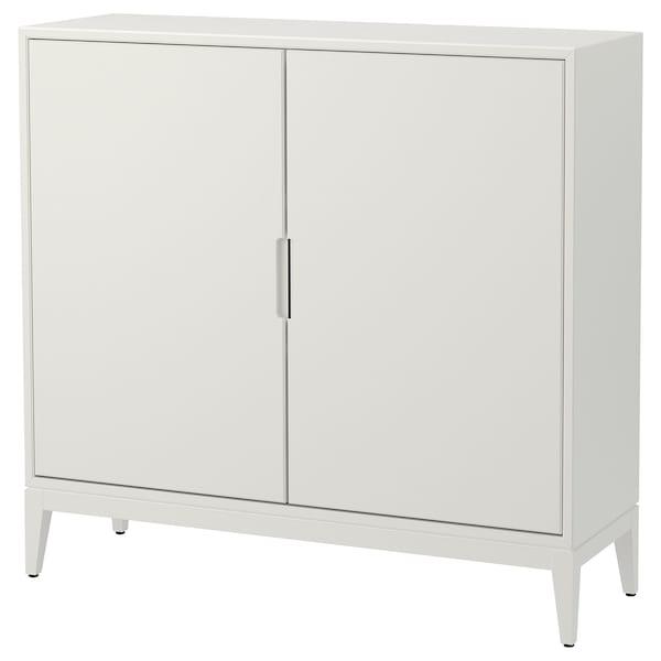 REGISSÖR Cabinet, white, 118x110 cm