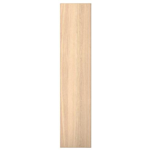 REPVÅG door white stained oak veneer 49.5 cm 229.4 cm 236.4 cm 1.7 cm