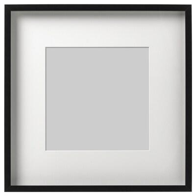 RIBBA Frame, black, 50x50 cm