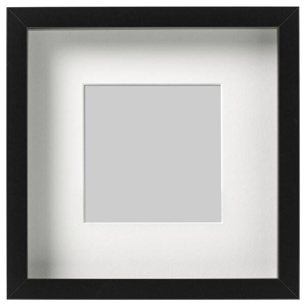 RIBBA Frame, black, 23x23 cm