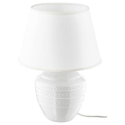 RICKARUM مصباح طاولة, أبيض, 47 سم