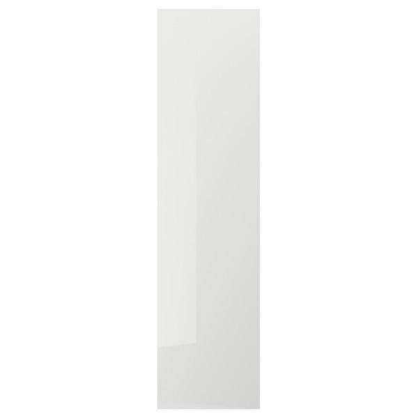 RINGHULT لوح غطاء, لامع رمادي فاتح, 62x240 سم