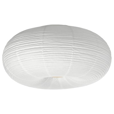 RISBYN LED ceiling lamp, white, 50 cm