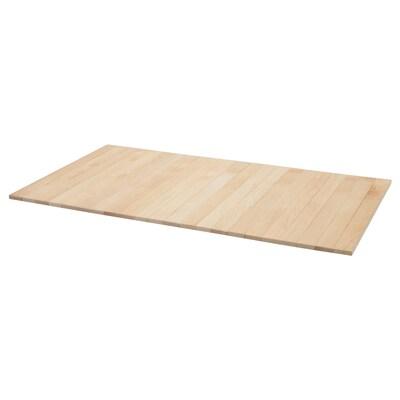 RÖDEBY Armrest tray, birch
