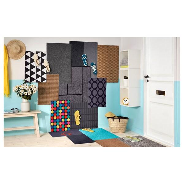 RORSLEV Door mat, multicolour, 40x60 cm