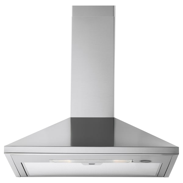 RYTMISK Wall mounted extractor hood, stainless steel, 60 cm