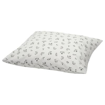 SANDLUPIN Pillowcase, floral patterned, 50x80 cm