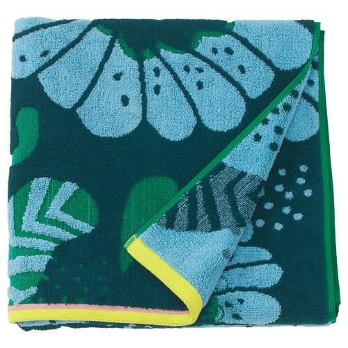 SANDVILAN bath towel blue/multicolour 140 cm 70 cm 0.98 m² 570 g/m²