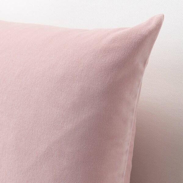 SANELA غطاء وسادة, زهري فاتح, 40x65 سم