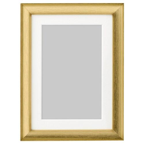 SILVERHÖJDEN frame gold-colour 13 cm 18 cm 10 cm 15 cm 9 cm 14 cm 15 cm 20 cm