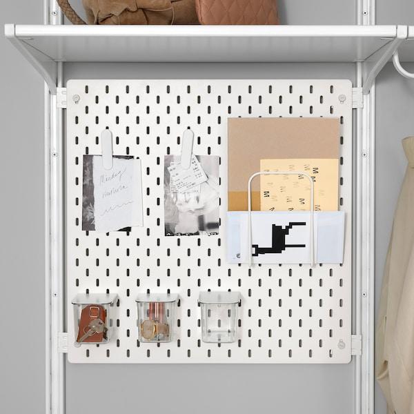 SKÅDIS connector for ALGOT white 5 cm 2 cm 4 cm 4 pack