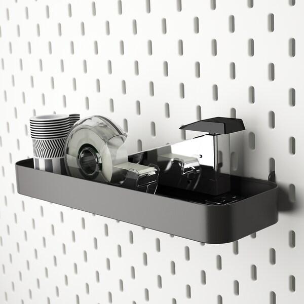 SKÅDIS Shelf, grey