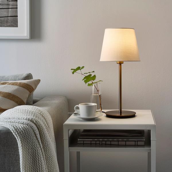 SKOTTORP Lamp shade, white, 19 cm