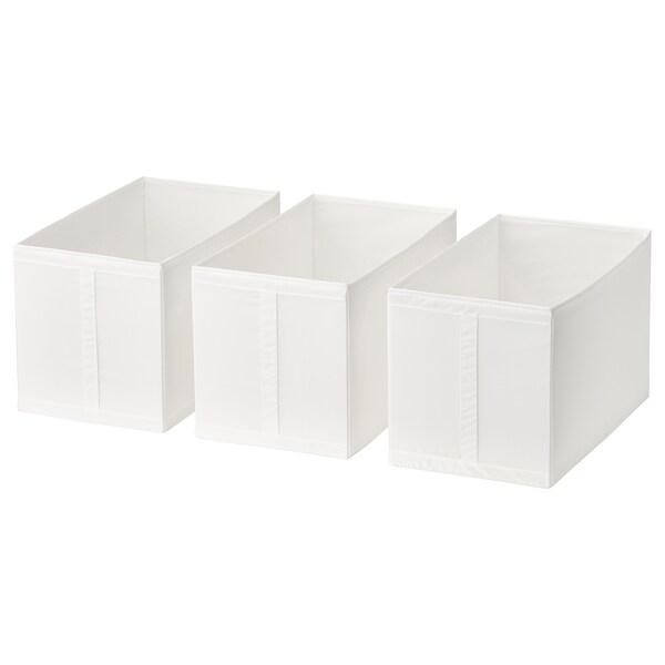 SKUBB Box, white, 31x55x33 cm