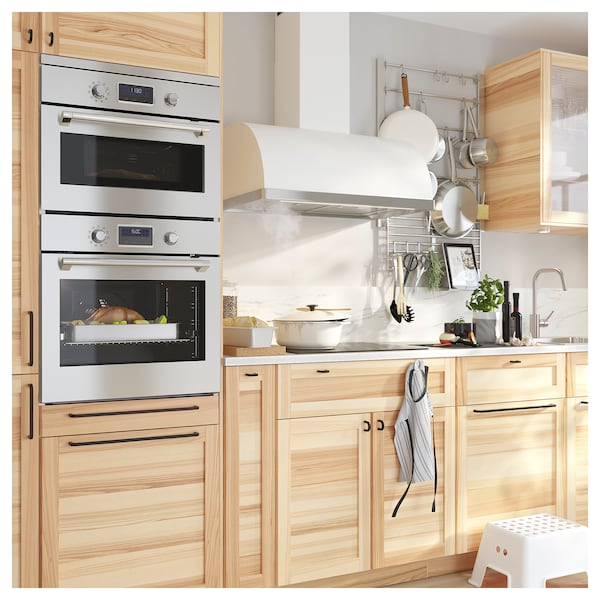 SMAKSAK Microwave combi with forced air, stainless steel