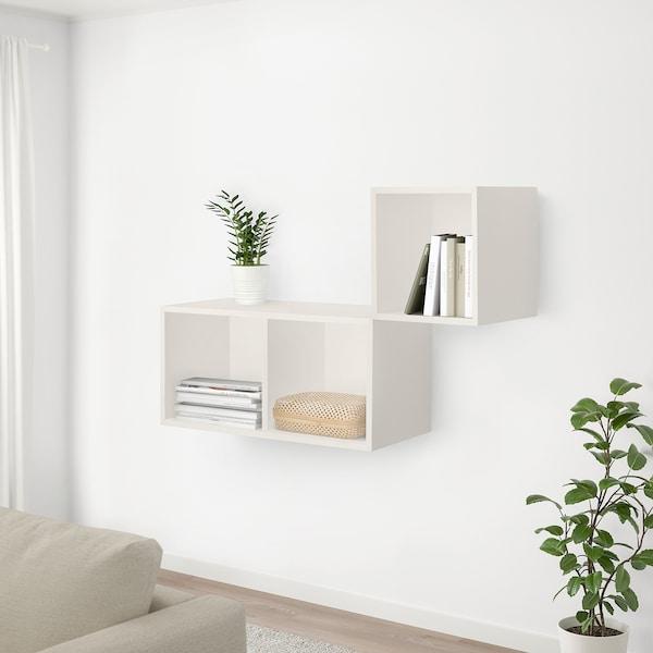 SMARRA صندوق بغطاء, لون طبيعي, 30x30x10 سم