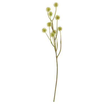 SMYCKA Artificial flower, in/outdoor/Stirlingia green-yellow, 45 cm
