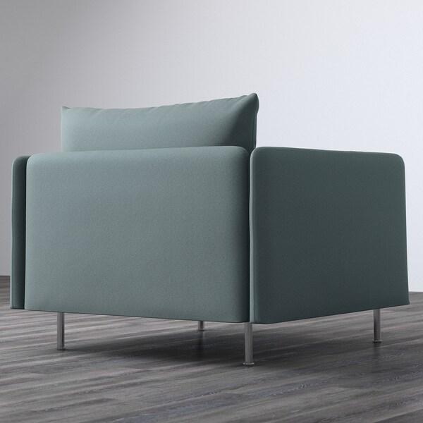 SÖDERHAMN Armchair, Finnsta turquoise