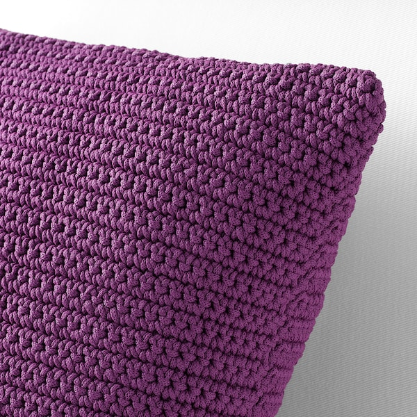 SÖTHOLMEN Cushion cover, in/outdoor, purple, 50x50 cm