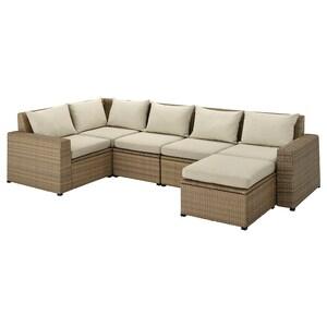 Colour: With footstool brown/hållö beige.