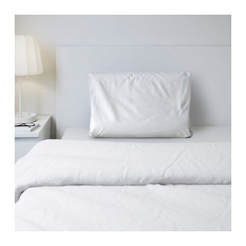 SÖMNIG Pillowcase for memory foam pillow IKEA The lyocell/cotton blend absorbs and draws moisture away from your body and keeps you dry all night long.
