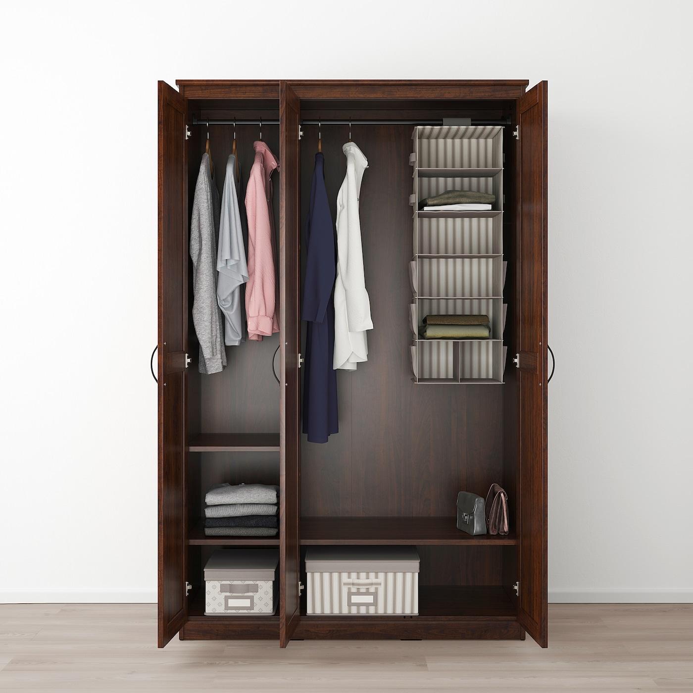 Songesand Wardrobe Brown Ikea