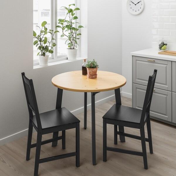 STEFAN Chair, brown-black