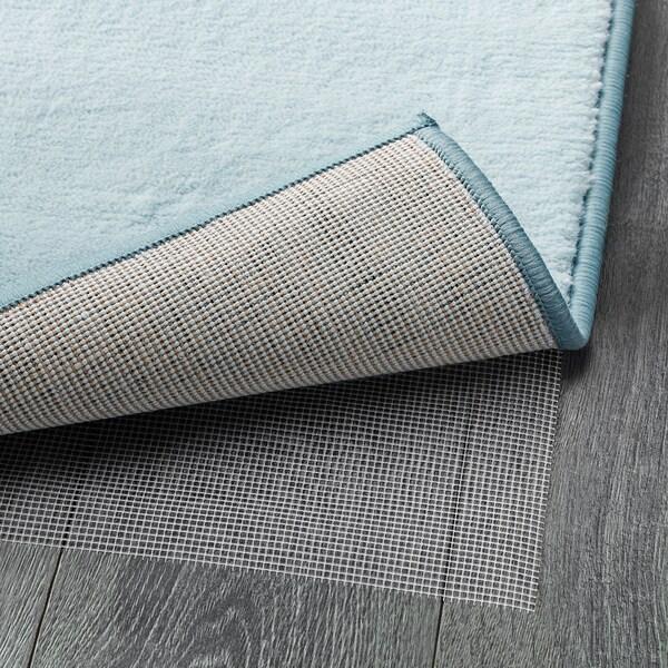 STILLEBÄK rug, low pile blue 195 cm 133 cm 13 mm 2.59 m² 2050 g/m² 700 g/m² 10 mm 10 mm