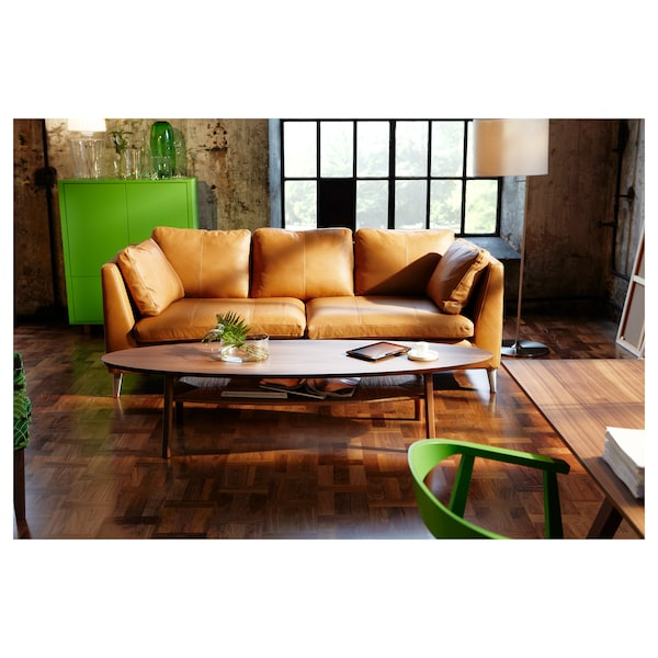 STOCKHOLM coffee table walnut veneer 180 cm 59 cm 40 cm