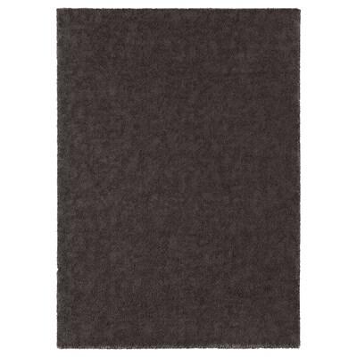 STOENSE سجاد، وبر قصير, رمادي غامق, 170x240 سم