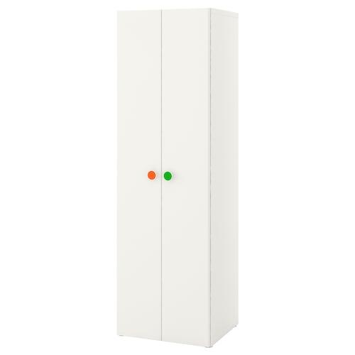 STUVA / FÖLJA wardrobe white 60 cm 50 cm 192 cm