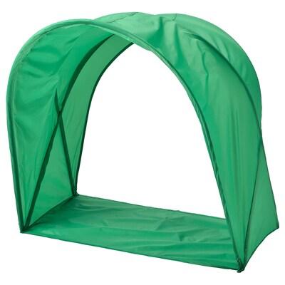 SUFFLETT Bed tent, green, 70/80/90