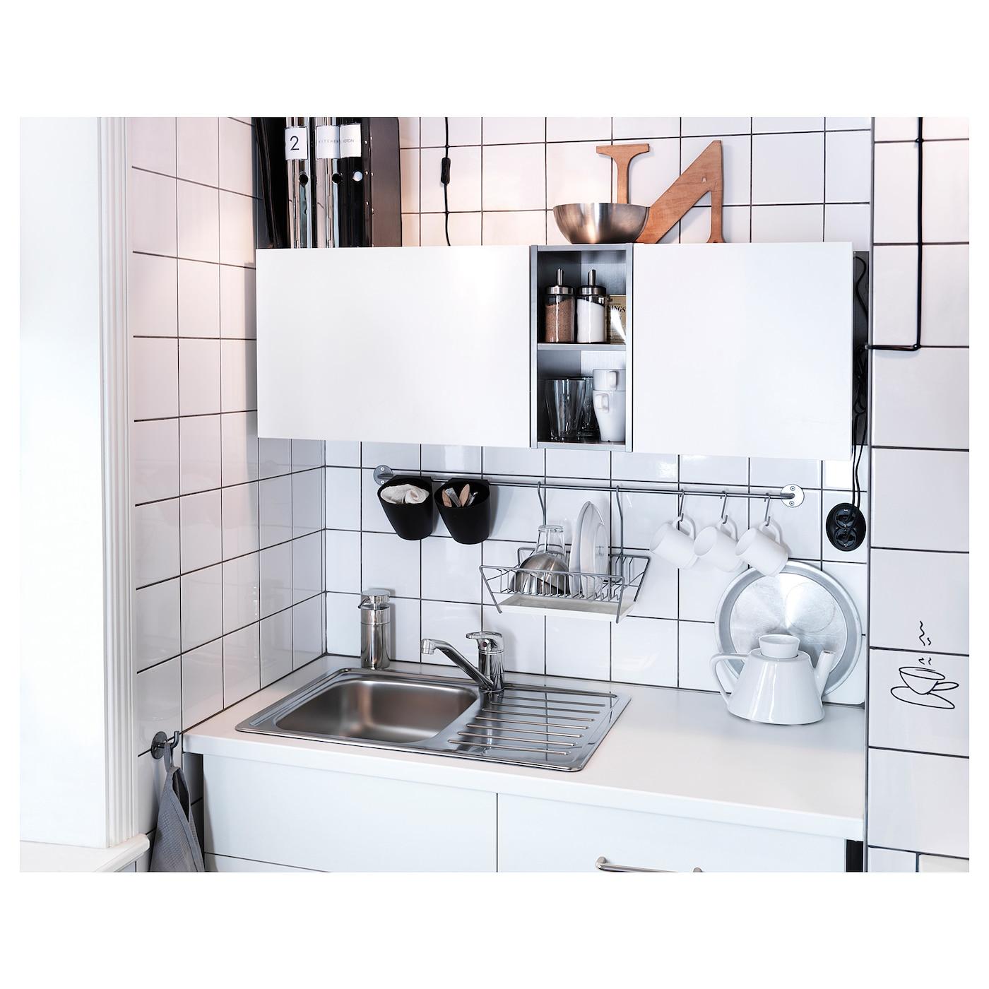 SUNDSVIK حنفية خلاط مطبخ بمقبض واحد, طلاء كروم