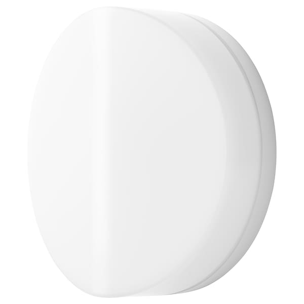 SVALLIS LED wall lamp, white, 15 cm