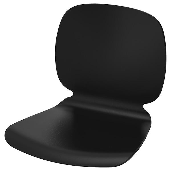 SVENBERTIL Seat shell, black