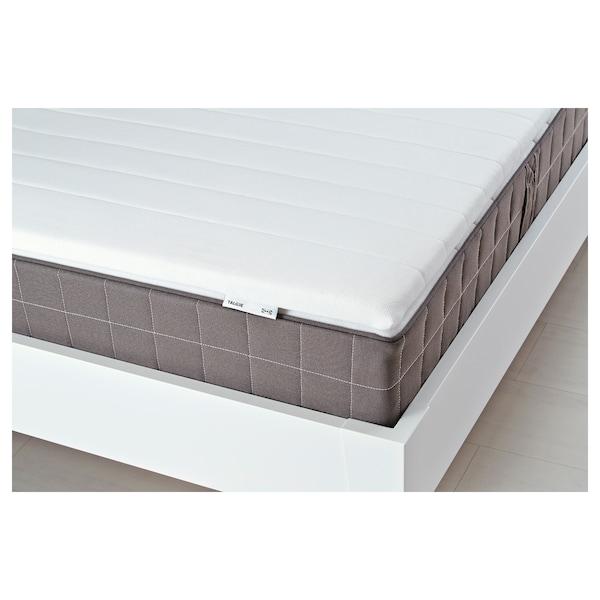 TALGJE Mattress pad, white, 140x200 cm