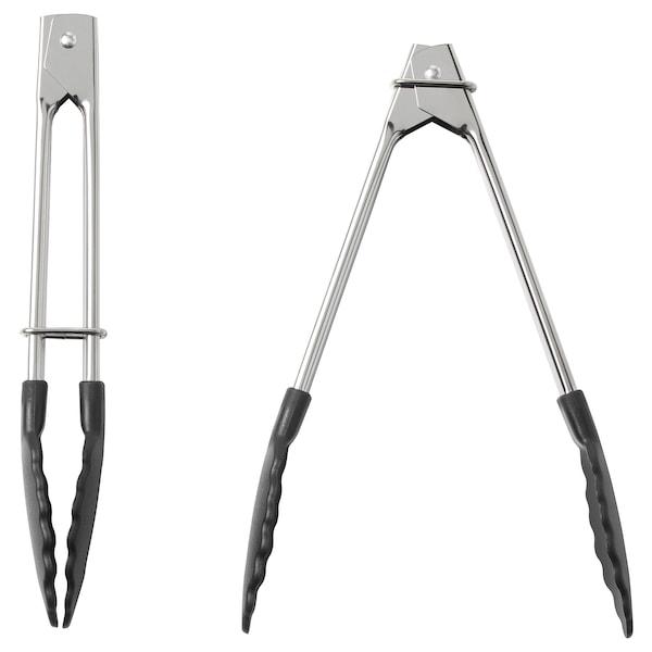 TILLÄMPAD Tongs, stainless steel