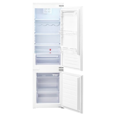 TINAD Integrated fridge/freezer A++, white, 210/79 l