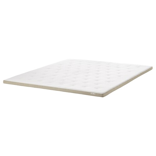 TISTEDAL mattress pad natural 200 cm 180 cm 6 cm