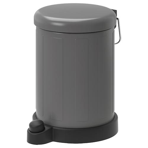 TOFTAN waste bin grey 27 cm 19 cm 4 l
