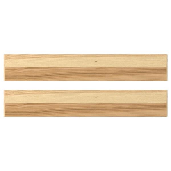 TORHAMN واجهة دُرج, خشب طبيعي رماد, 60x10 سم