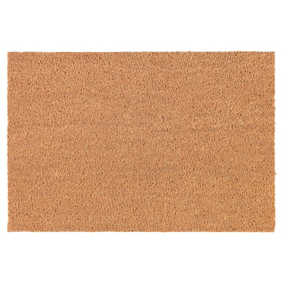 TRAMPA Door mat, natural, 40x60 cm