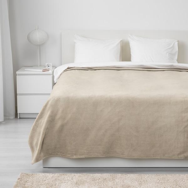 TRATTVIVA Bedspread, beige, 230x250 cm