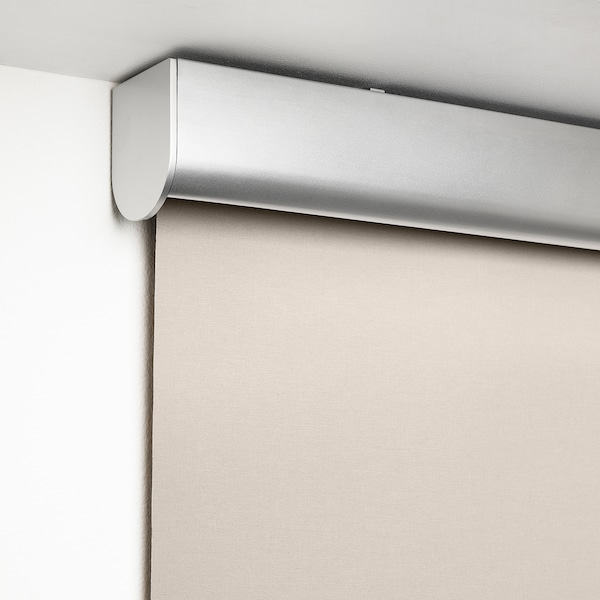 TRETUR Block-out roller blind, beige, 100x195 cm